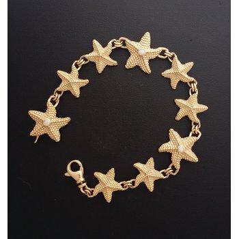 Starfish Diamond Bracelet