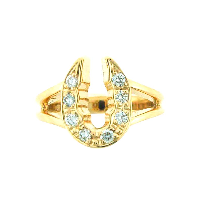 Equestrian Jewelry Horseshoe Ring