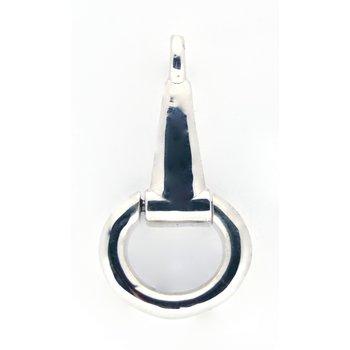 Sterling Silver Horse Bit Pendant