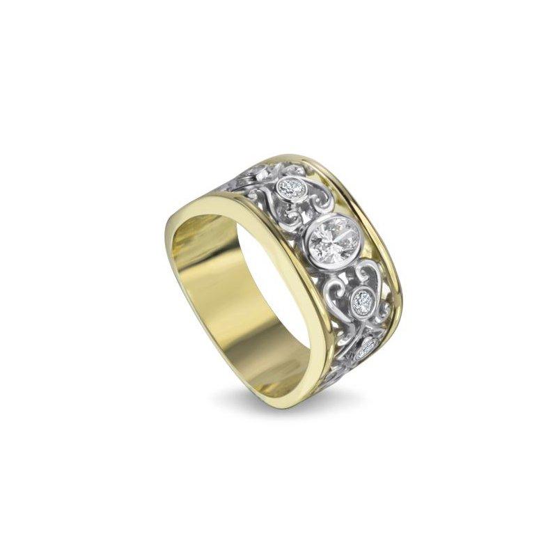 European Goldsmith Closeouts Diamond Ring