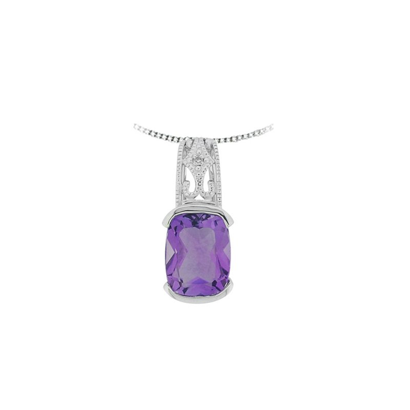 European Goldsmith Closeouts Amethyst Necklace