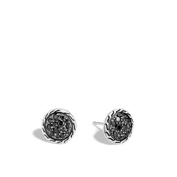 Classic Chain Round Stud Earrings
