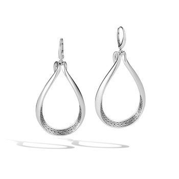 SS ASLI CC LINK DANGLE EARRINGS