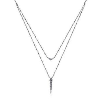 14KW 17.5IN 0.22TDW DELICATE LAYERED NECKLACE