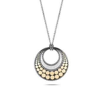 Dot Reversible Pendant Necklace