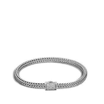 Classic Chain 5MM Pavé Icon Bracelet