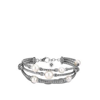 Pearl Triple Row Bracelet