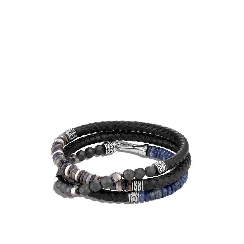 John Hardy Leather Wrap Bracelet