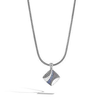 Twisted Pavé Pendant Necklace