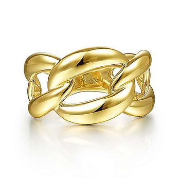 14KY CHAIN LINK RING