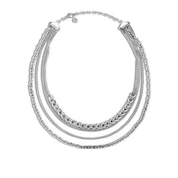 Asli Classic Chain Link Multi Row Necklace