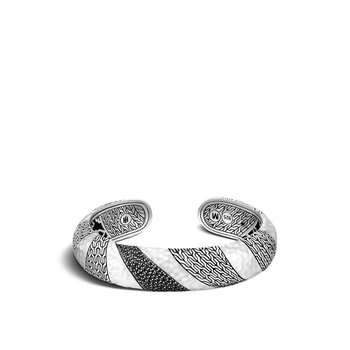 Classic Chain Hammered Kick Cuff