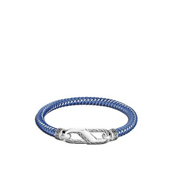 Classic Chain Bracelet with Steel Cord