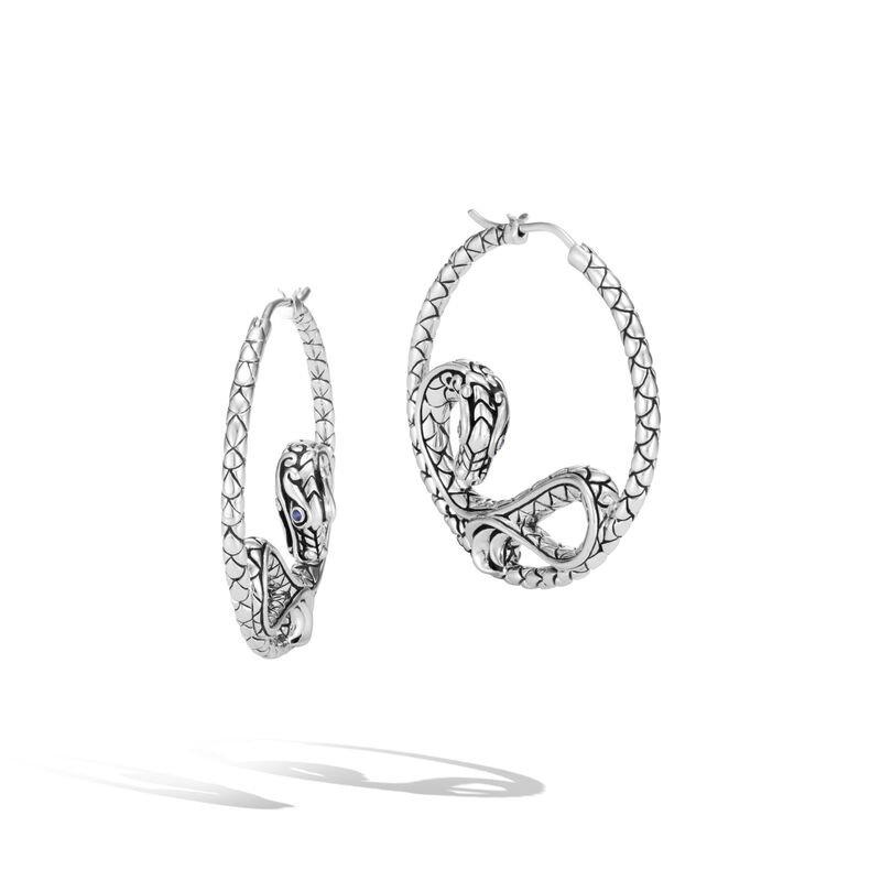 John Hardy Naga Medium Hoop Earrings