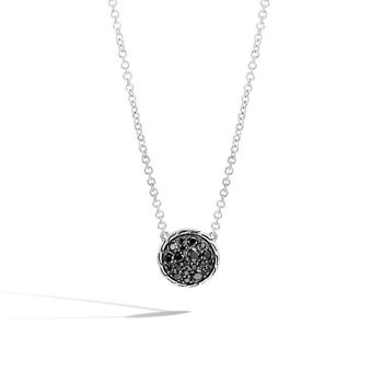 Classic Chain Round Pendant Necklace