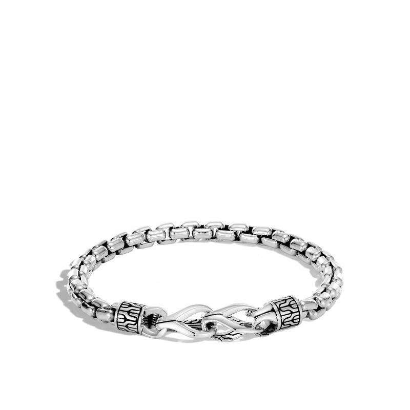 John Hardy Asli Classic Chain Link Box Chain Bracelet