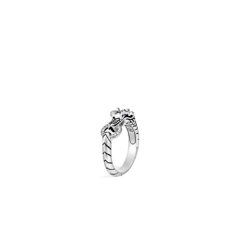 John Hardy Legends Naga Ring with Diamonds
