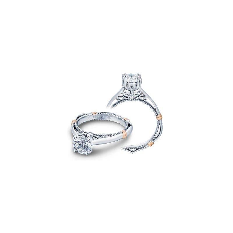 Verragio Verragio Parisian D-120 - 14k White and Rose Gold Diamond Engagement Ring by Verragio