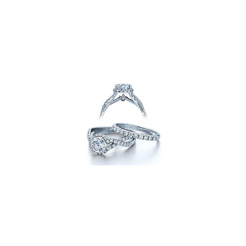 Verragio Verragio Couture 0384-PLT - Platinum Diamond Engagement Ring by Verragio