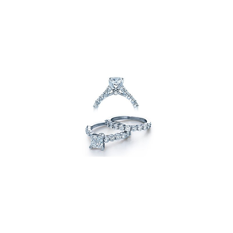 Verragio Verragio Couture 0410LP - 18k White Gold Diamond Engagement Ring by Verragio