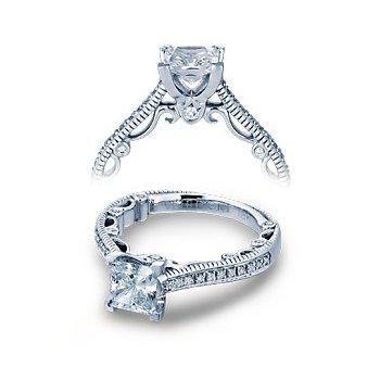 Verragio Paradiso-3078P-PLT - Platinum Diamond Engagement Ring by Verragio