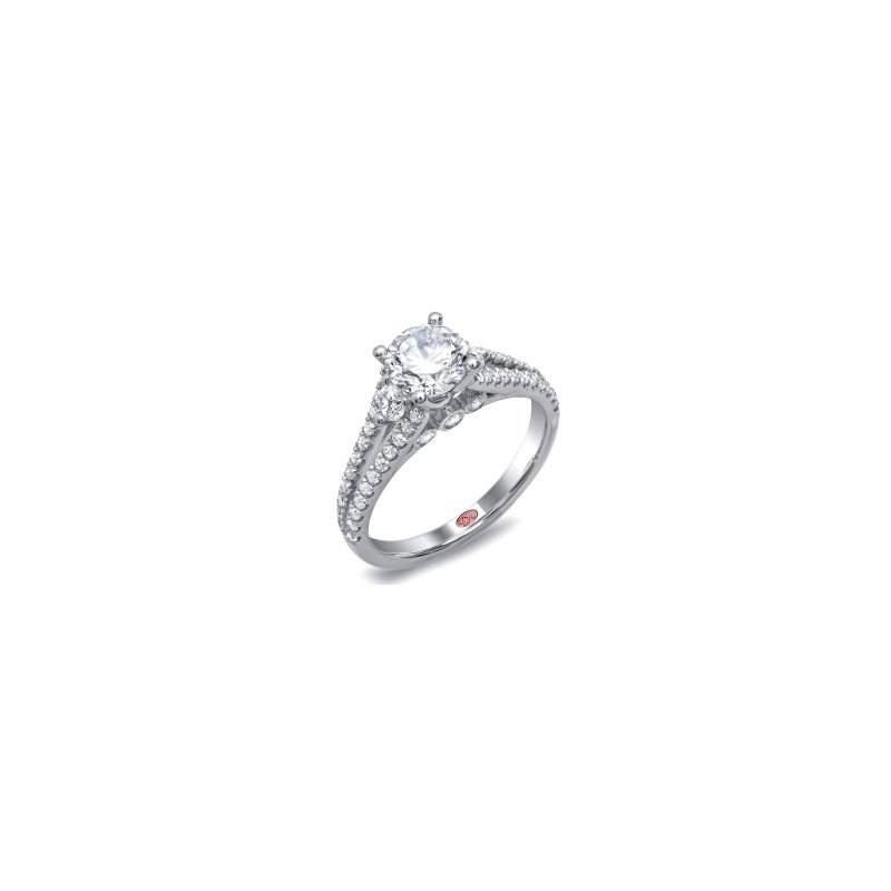 Demarco Demarco DW4653 - 18k White Gold Engagement Ring by Demarco