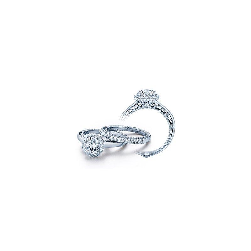Verragio Verragio Venetian 5019 - 18k White Gold Diamond Engagement Ring by Verragio