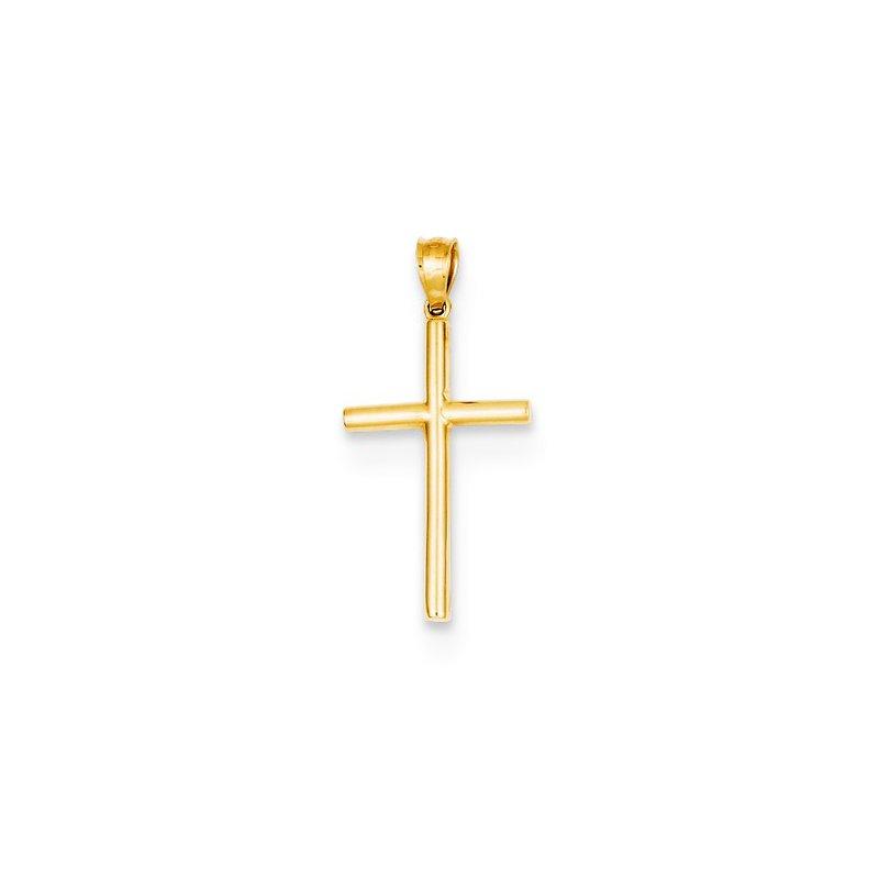 Crosses, Religious & Symbolic Jewelry 14k Yellow Gold Plain Cross