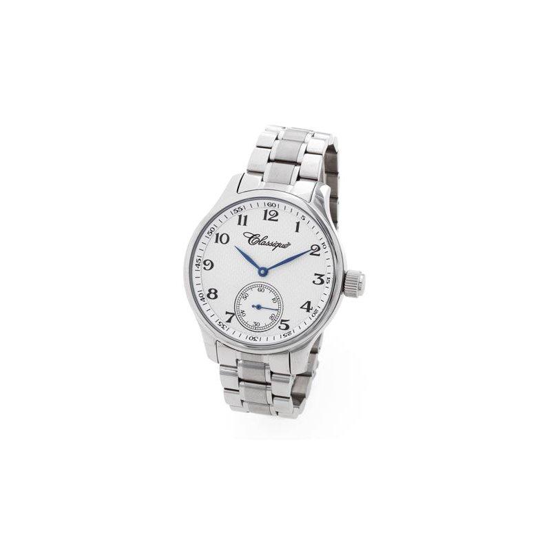 Swiss Watches Classique Gents Aviator Swiss Made Mechanical 48mm Stainless Steel Watch