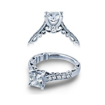Verragio Paradiso-3076P - 14k White Gold Diamond Engagement Ring by Verragio