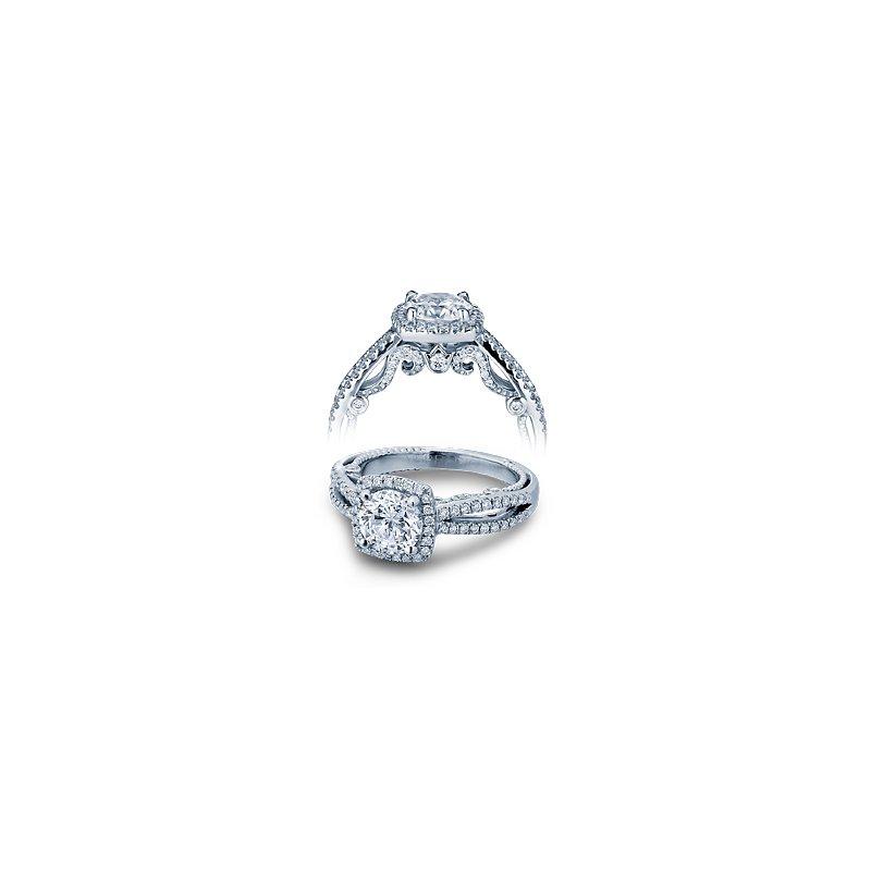 Verragio Verragio Insignia 7069CU - 18k White Gold Diamond Engagement Ring by Verragio