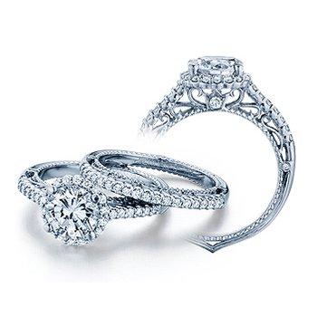 Verragio Venetian 5022R - 18k White Gold Diamond Engagement Ring by Verragio