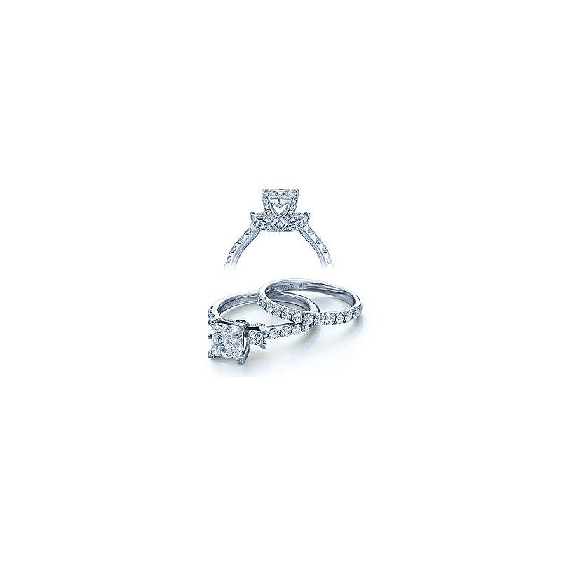 Verragio Verragio Couture-0404 - 14k White Gold Diamond Engagement Ring by Verragio