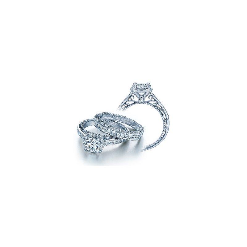 Verragio Verragio Venetian 5015R - 18k White Gold Diamond Engagement Ring by Verragio