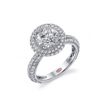 Demarco DW5315 - 18k White Gold Engagement Ring by Demarco
