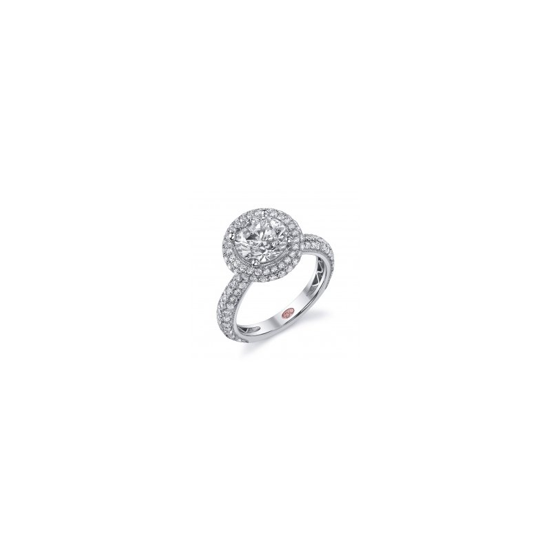 Demarco Demarco DW5315 - 18k White Gold Engagement Ring by Demarco