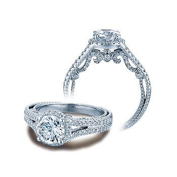 Verragio Insignia 7062R - 14k White Gold Diamond Engagement Ring by Verragio