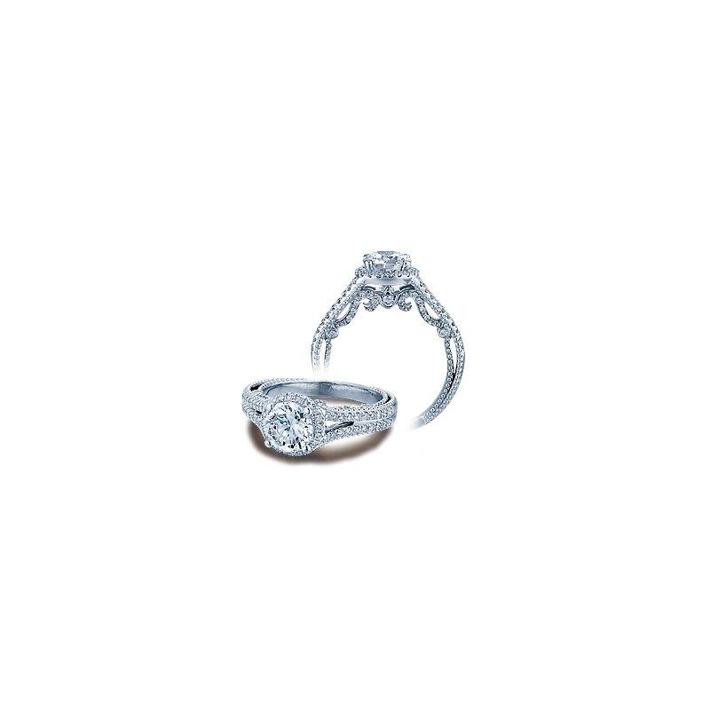 Verragio Verragio Insignia 7062R - 14k White Gold Diamond Engagement Ring by Verragio