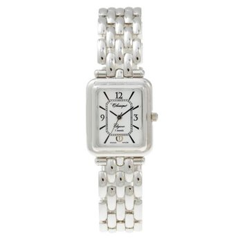 Classique Ladies' Rhodium Swiss Quartz Bracelet Watch - #35818