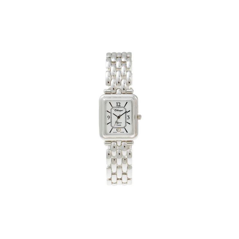 Swiss Watches Classique Ladies' Rhodium Swiss Quartz Bracelet Watch - #35818