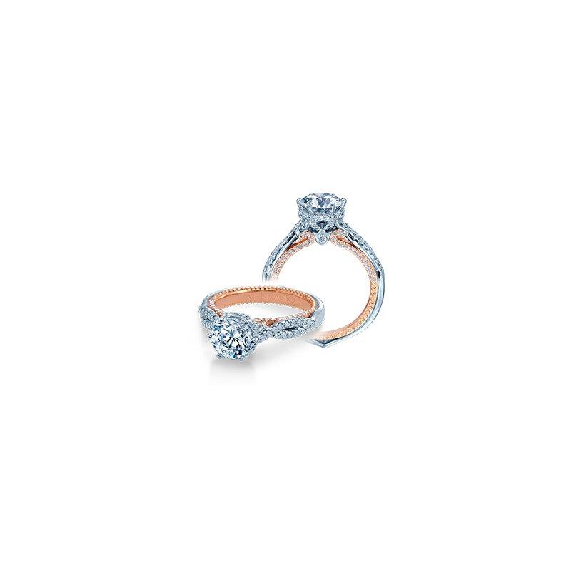 Verragio Verragio Couture 0451 R-2WR - 18k White and Rose Gold Diamond Engagement Ring