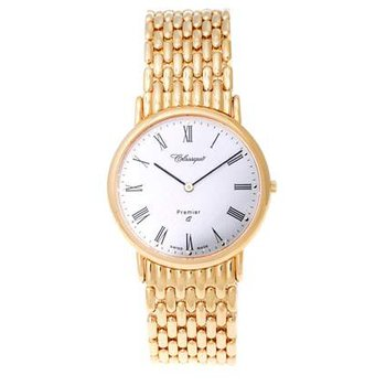 Classique Gents Stainless Steel Gold Plated Swiss Quartz Watch - #9/123AG