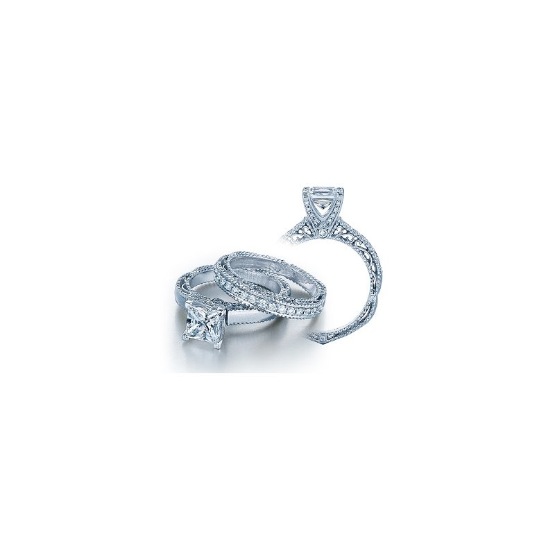 Verragio Verragio Venetian 5009P - 18k White Gold Diamond Engagement Ring by Verragio