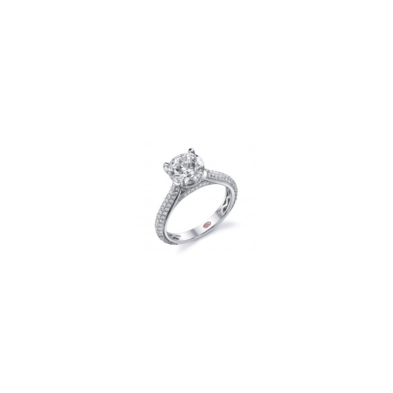 Demarco Demarco DW4761 - 18k White Gold Engagement Ring by Demarco
