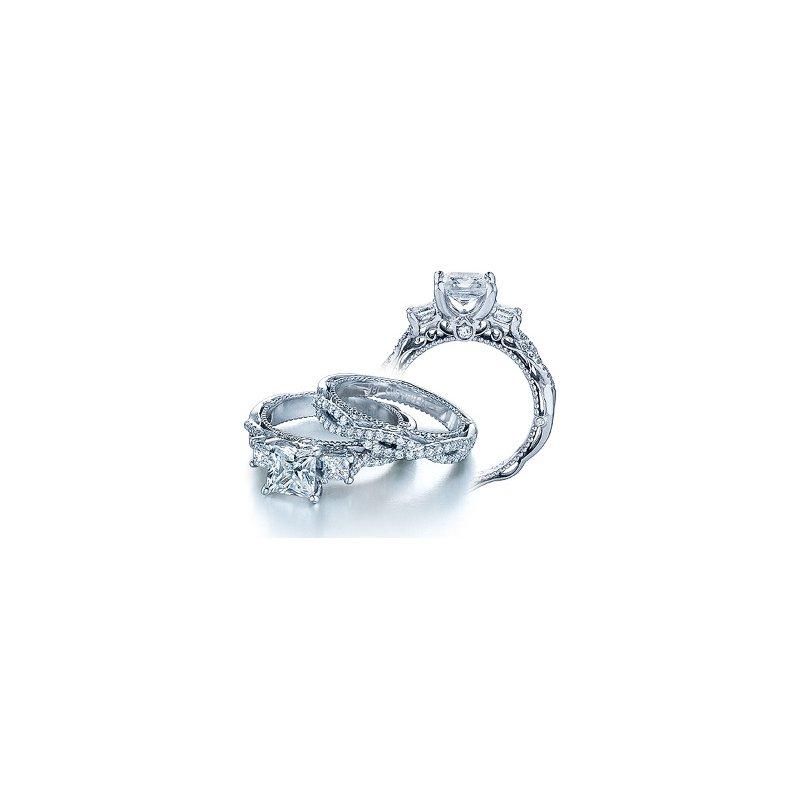 Verragio Verragio Venetian 5013P - 18k White Gold Diamond Engagement Ring by Verragio
