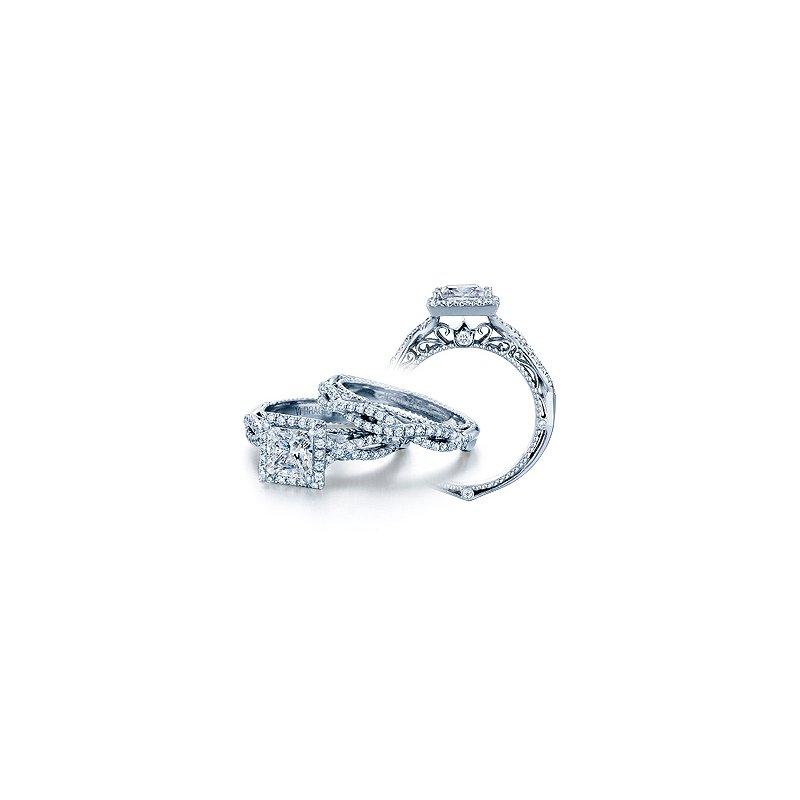 Verragio Verragio Venetian-5005P - 14k White Gold Diamond Engagement Ring by Verragio