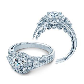 Verragio Insignia-7068RL - 14k White Gold Diamond Engagement Ring by Verragio