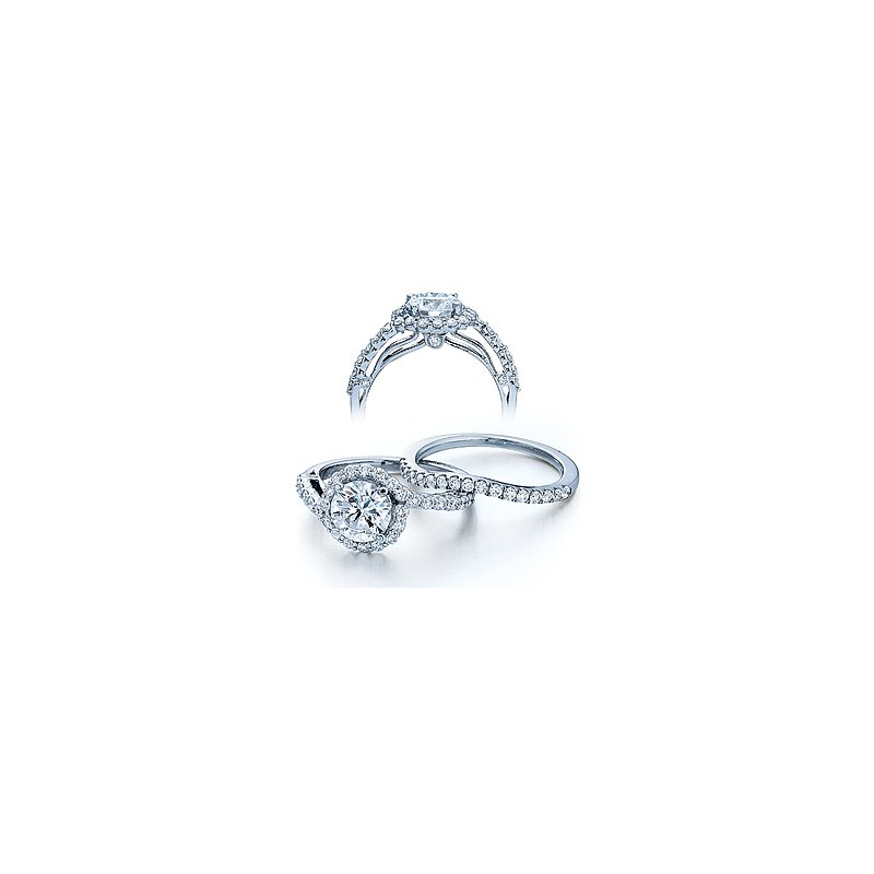 Verragio Verragio Couture 0390 - 18k White Gold Diamond Engagement Ring by Verragio