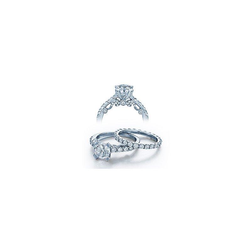 Verragio Verragio Insignia 7001RD - 18k White Gold Diamond Engagement Ring by Verragio