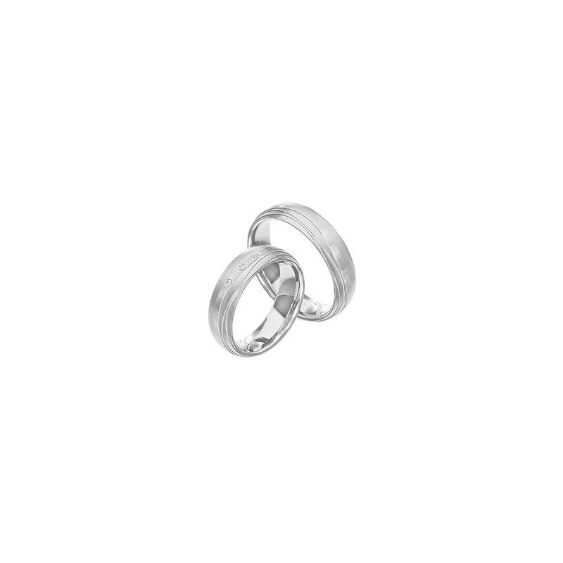 Samuel Jewels Palladium 6mm Wedding Band